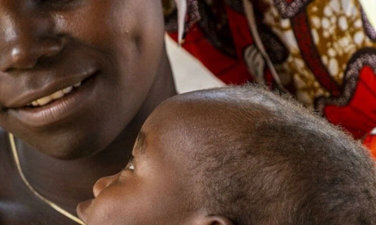 A nigeriana Charity recebeu encorajamento para superar os traumas resultantes do sequestro do Boko Haram