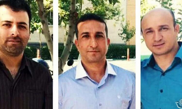 Zaman Fadaee, Yousef Nadarkhani e Mohammadreza Omid foram presos por organizar uma igreja cristã, promover o cristianismo e atentar contra a segurança nacional (foto: Article 18)
