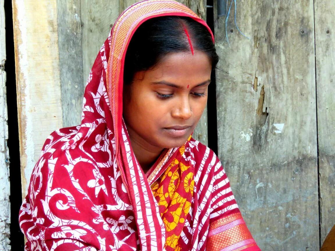 A cristã Shilpi e a filha Supria foram atacadas enquanto dormiam em uma aldeia em Bangladesh (foto representativa)