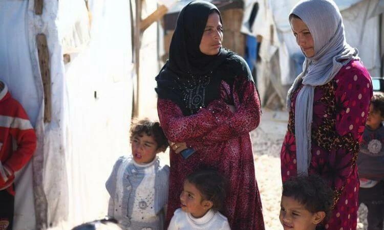 Famílias refugiadas já enfrentam uma grave crise de fome e desemprego no Líbano