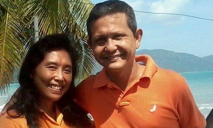 O pastor Joshua Hilmy e a esposa dele, Ruth Sitepu, estão desaparecidos desde novembro de 2016