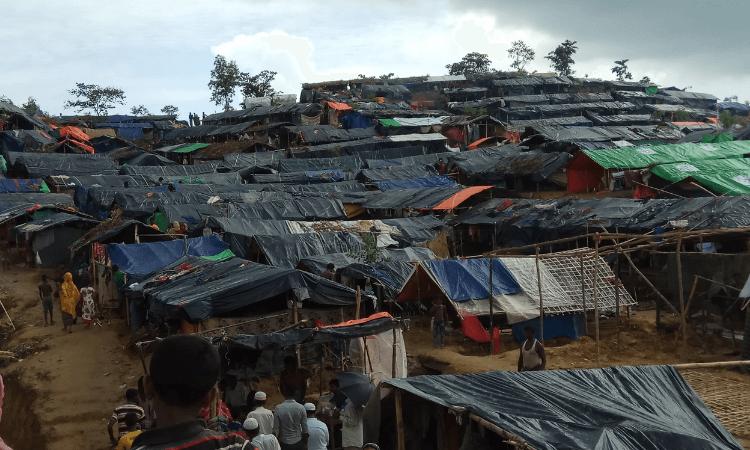 Cerca de 2.000 cristãos vivem em Kutupalong, o maior campo de refugiados do mundo em Cox Bazar, no Sudoeste de Bangladesh