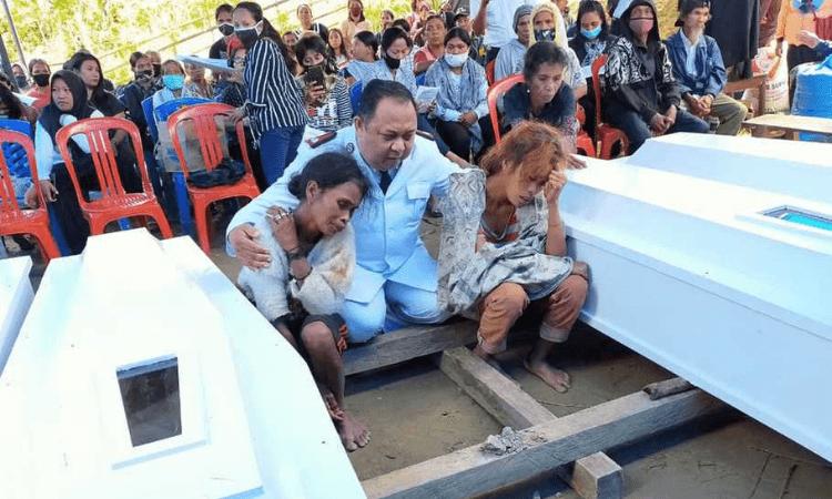Os quatro seguidores de Cristo que foram mortos eram vizinhos na aldeia Sulawesi, na Indonésia