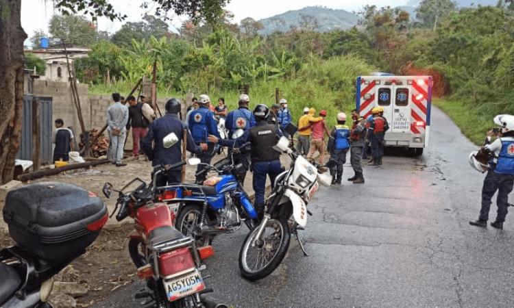 O local atacado é um centro de recuperação de uma igreja na Venezuela