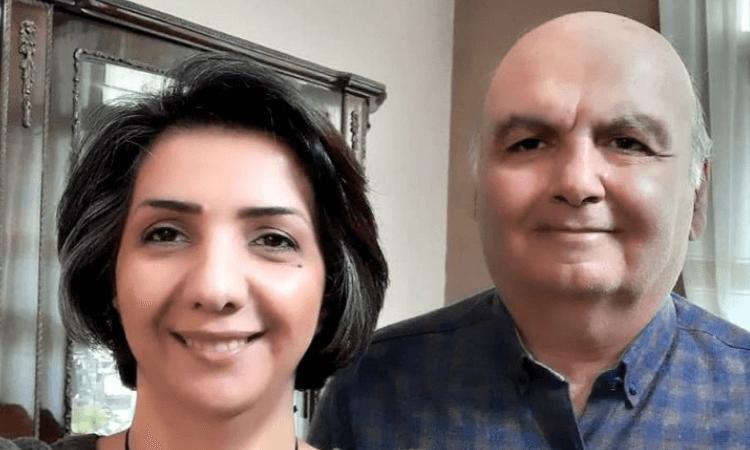 Homayoun Zhaveh e Sara Ahmadi foram acusados de participar de igrejas domésticas e cumprirão pena no Irã (foto: Article18)